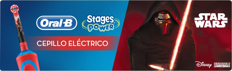 Cepillo Eléctrico Oral-B Stages Power Kids