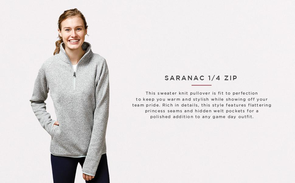 Women's Saranac 1/4 Zip - SA100