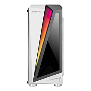 Mars Gaming MCL, caja PC, cristal templado, ventilador 12cm, LED ...