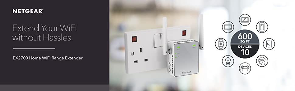 Ex2700 extend your wifi