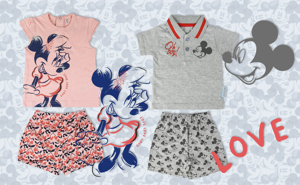 Minnie;Mickey;Camiseta Minnie;Camiseta Mickey;Polo Mickey;Ropa infantil Mickey;Ropa Minnie Mouse;