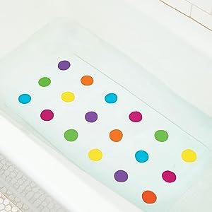 Amazon Com Munchkin Dandy Dots Bath Mat Baby