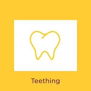 What causes diaper rash? Illustration of tooth with words Teething