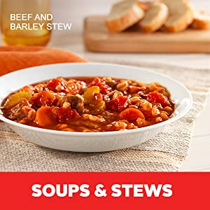 Soups and stews made with Hunt's canned tomatoes