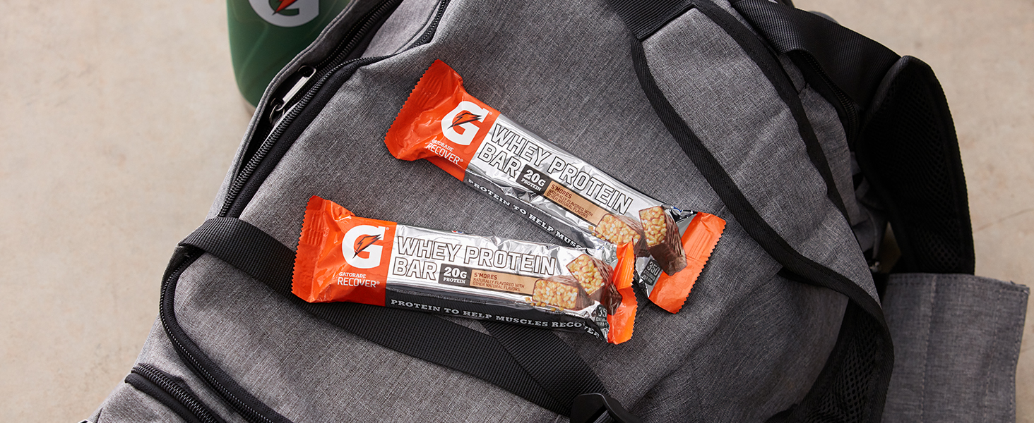 gatorade recover protein bar