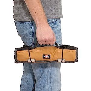 Dickies Work Gear Grey//Tan Socket Organizer Large Large Wrench Roll