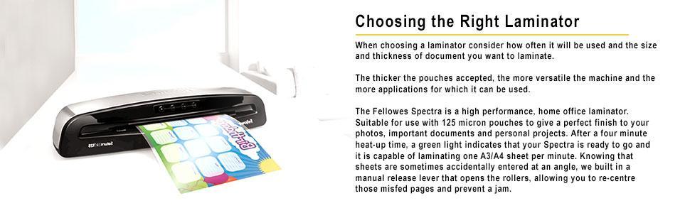 Fellowes Spectra A4 Laminator 5737901