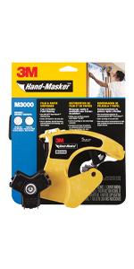 3M Hand-Masker Film & Tape Dispenser Only, M3000