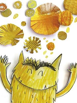 El Monstruo de Colores, amarillo, alegría