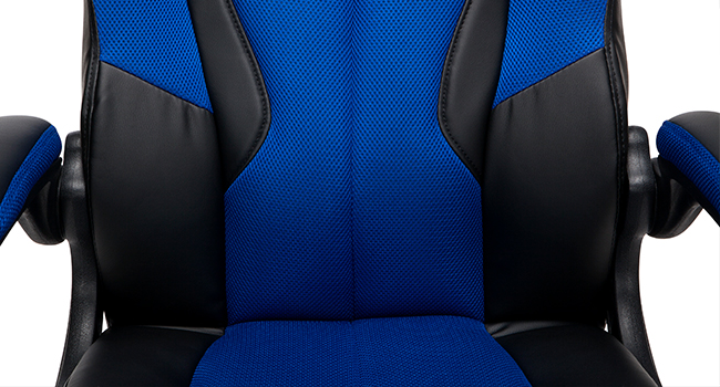 padded seat and back
