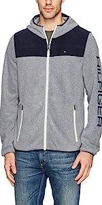 Tommy Hilfiger Men s Hooded Performance Fleece Jacket · Tommy Hilfiger  Men s Classic Zip Front Polar Fleece Jacket · Tommy Hilfiger Men s Polar  Fleece Vest 7234170d6079