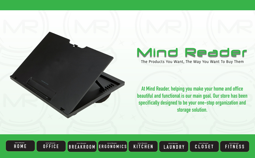 Adjustable Laptop Desk Stand, Black