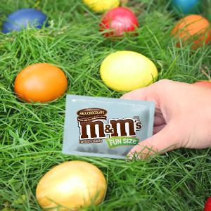 Fill Easter eggs with a variety pack of MARS Chocolate and Sugar Candies.