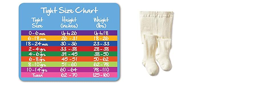 Jefferies Socks, organic, cotton, baby tight, sizes