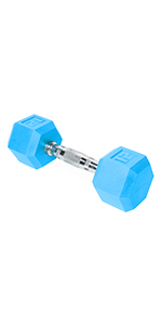 color dumbbell