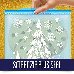Smart zip plus seal