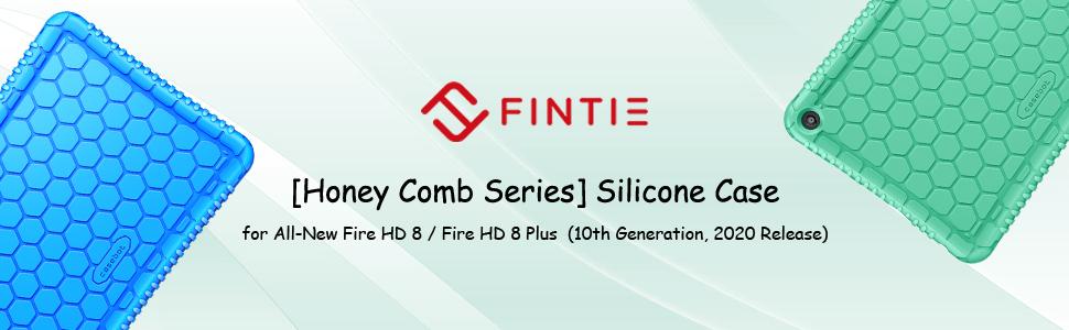 fire hd8 2020 10th gen lightweight silicone shock absorb kids tri fold skin
