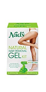 nads hair removal gel wax kit ...