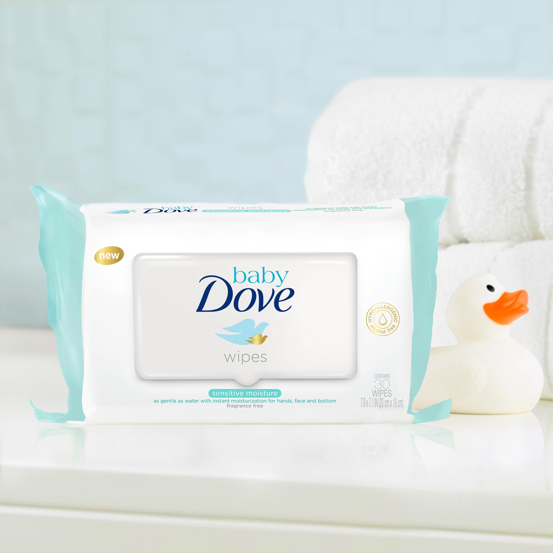 Amazon Com Baby Dove Wipes Sensitive Moisture 30 Ct