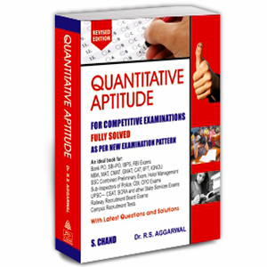 quantitative aptitude, competitive exam  competitive books, banking book, ssc, r.s aggarwal