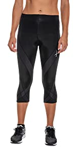 CW-X Women's Endurance Pro Muscle Support 3/4 Compression Tight