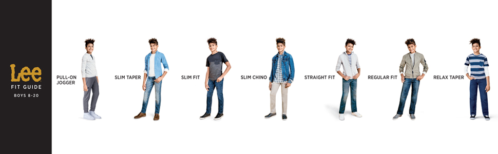 77ac7bc7 Amazon.com: Lee Boys' Premium Select Regular Fit Straight Leg Jeans ...