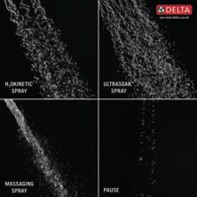4 spray settings