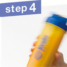 step4:フタをよく振り完成