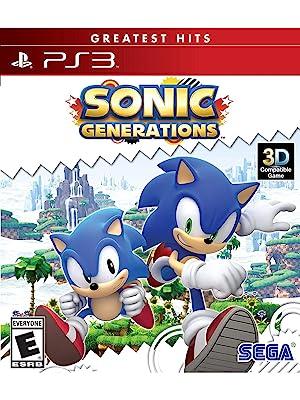 Amazon Com Sonic Generations Greatest Hits Playstation 3 Sega Of America Inc Video Games