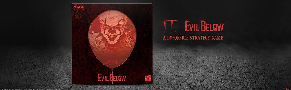 IT Evil Below board game