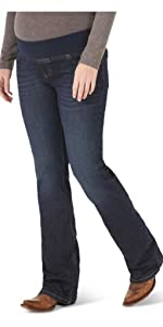 Retro Mae Maternity Boot Cut Jean