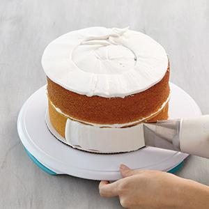 Wilton, cake icer tip 789, how to ice a cake quickly, 16 inch disposable decorating bag