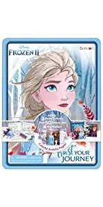 disney frozen coloring and activity set