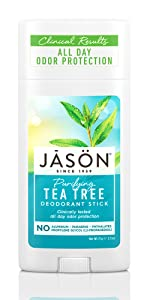 Jason Purifying Tea Tree Deodorant