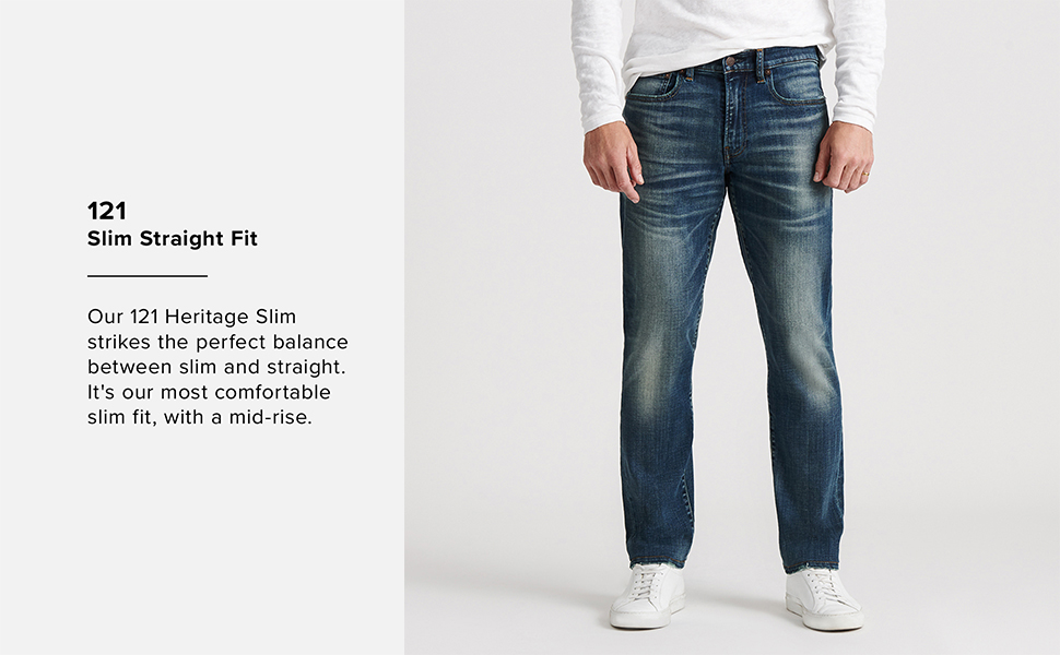 Lucky Brand Men S 121 Heritage Slim Jean At Amazon Men S Clothing Store