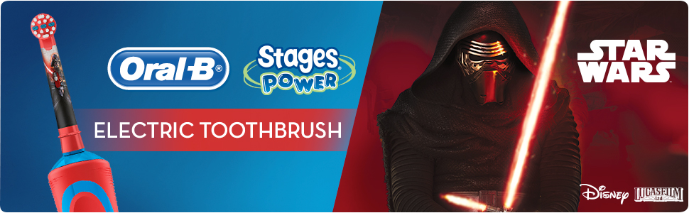 Oral-B Stages (Star Wars) electric toothbrush for kids