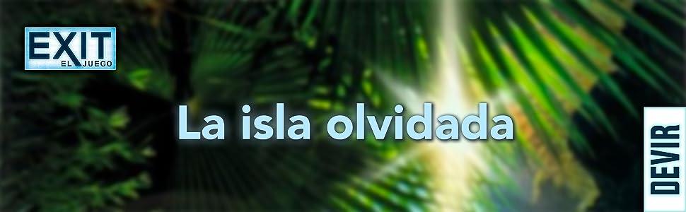 Devir - Exit: La isla olvidada, Ed. Español (BGEXIT5) , color/modelo surtido: Amazon.es: Juguetes y juegos