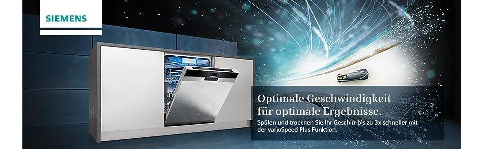 Siemens Sn536s01ge Iq300 Geschirrspüler A 258 Kwhjahr 2660 L
