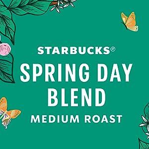 Starbucks Spring Day Blend Medium Roast