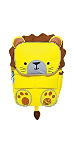 862bdcac5f46 Trunki Toddler s Backpack - Hi-Viz Little Children s Pre School Rucksack - ToddlePak  Bert (Blue)  Amazon.co.uk  Luggage