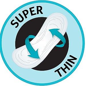 ubk, u by kotex, ubyk, ultra thins, pads, sanitary pads, period pads, period protection, regular pad