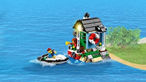 Rebuild into a house with speedboat