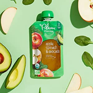 plum organics, stage 1 baby food, baby food pouch, stage 1 baby food pouch, organic baby food