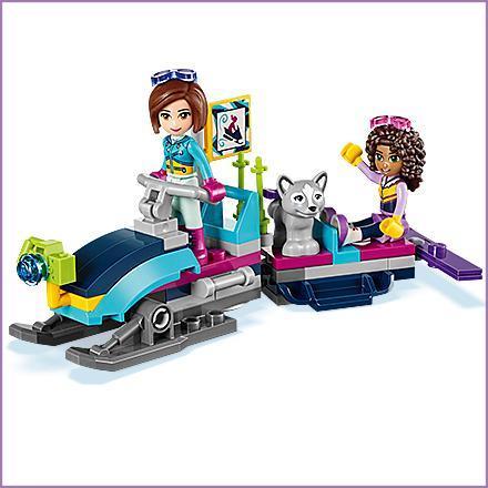 Lego Uk 41323 Snow Resort Chalet Construction Toy Amazon