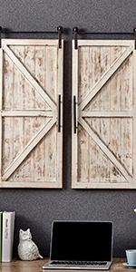 door and window plaques