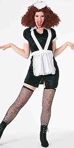 RIFF Raff Parrucca Da Uomo Accessorio Costume Rocky Horror Picture Show Halloween