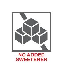 no added sweetner