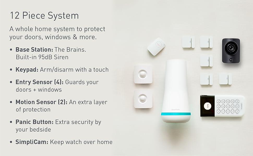 DIY, install, app, base station, sensors, protect, home, security system, easy, safety, SimpliSafe