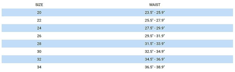 mizuno men's swim size chart