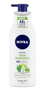 aloe hydration, body lotion, nivea
